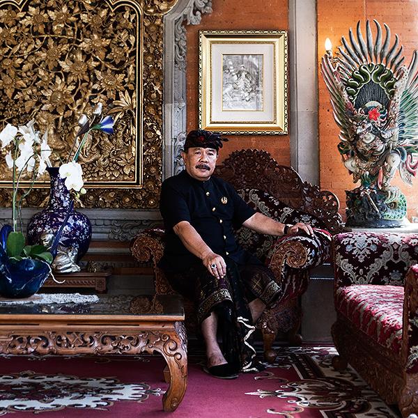 Drs Tjokorda Gde Putra Sukawati, Prince of Ubud, Bali