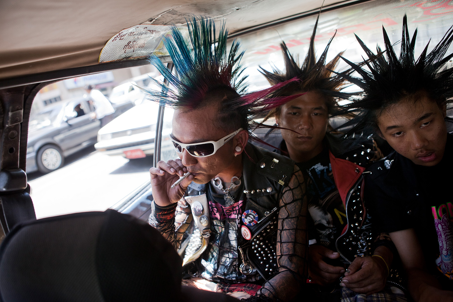 Yangon Punk Scene Photographer In Bangkok Realfeatures