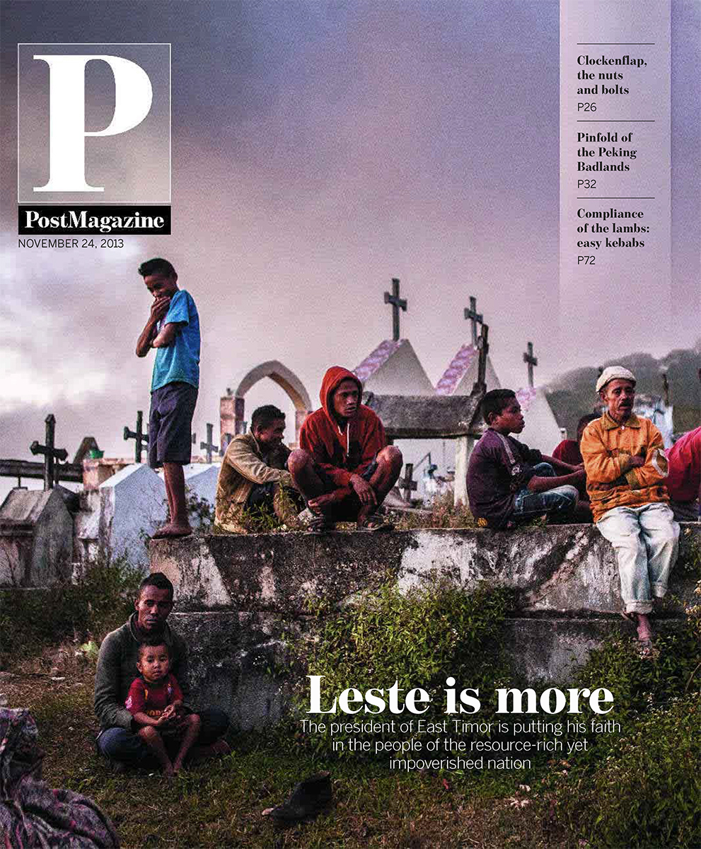 South China Morning Post Magazine cover - East Timor