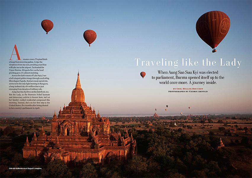 Washington Post Magazine, Bagan