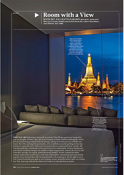Conde Nast Traveller US - Room with a view