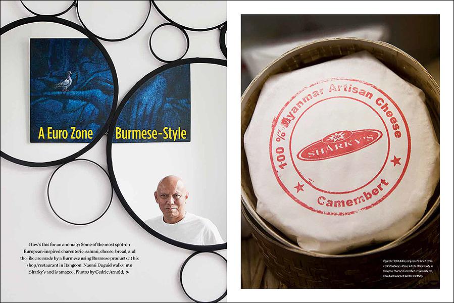 Food Arts Magazine, Yangon (Sharky's) feature
