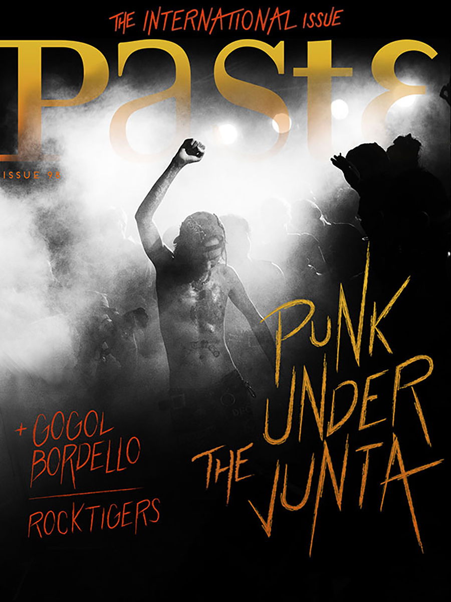 Paste Music Magazine - cover story on Burmese Punks
