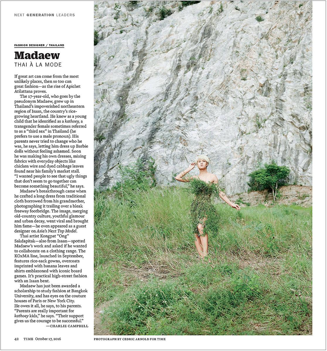 "Apichet ""Madaew"" Atirattana. Time Magazine"