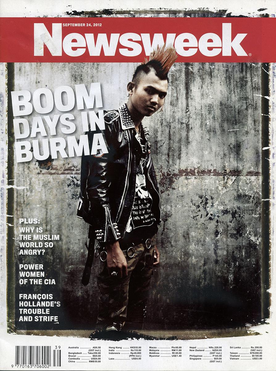 Newsweek cover - 'Yangon Awakening'