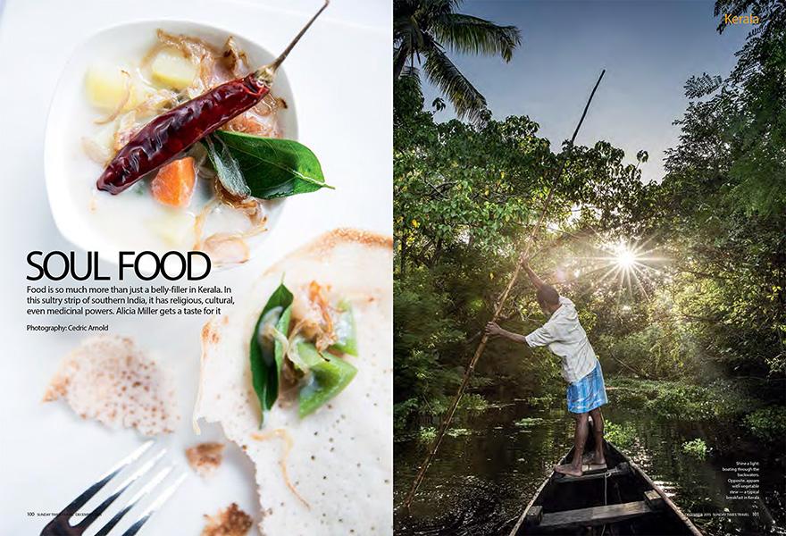 Kerela - Sunday Times Travel Magazine