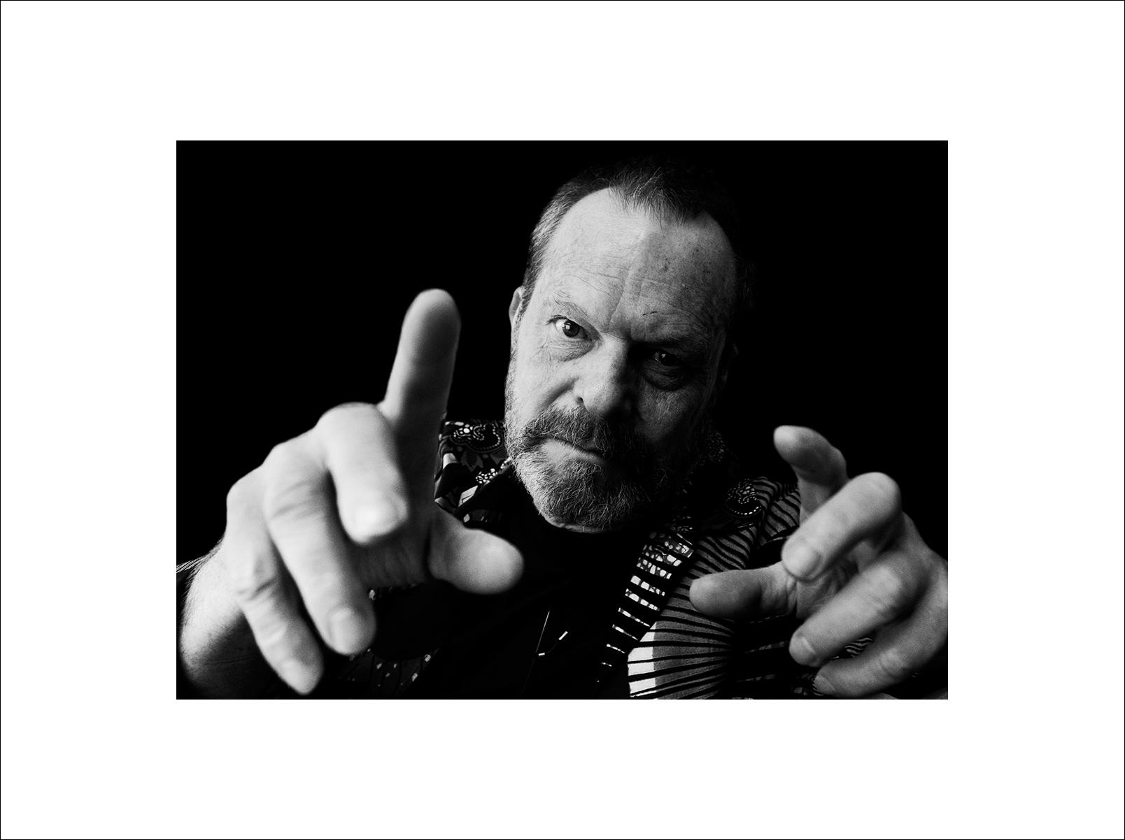 Filmmaker Terry Gilliam, Photographed in Bangkok