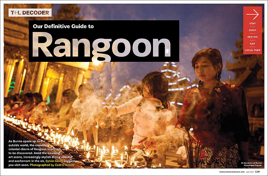 Travel & Leisure - Yangon feature