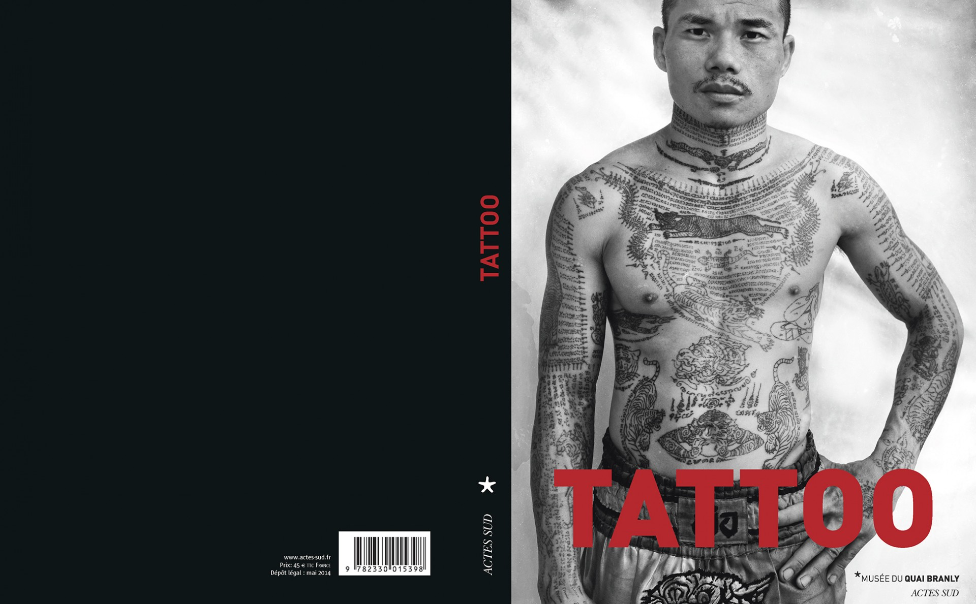 """Tattoo"" Musee du Quai Branly / Actes Sud"